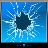 μηνύτορας ρωγμών Στοκ εικόνα με δικαίωμα ελεύθερης χρήσης