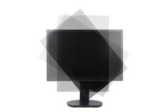 μηνύτορας LCD περιστρέψιμος Στοκ εικόνα με δικαίωμα ελεύθερης χρήσης