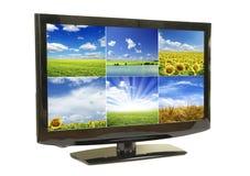 μηνύτορας LCD Στοκ Εικόνα