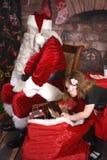 Μην ανοίξτε μέχρι τις 25 Δεκεμβρίου! στοκ εικόνες