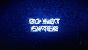 Μην εισάγετε την ψηφιακή ζωτικότητα λάθους επίδρασης διαστρεβλώσεων δυσλειτουργίας σύσπασης θορύβου κειμένων απεικόνιση αποθεμάτων