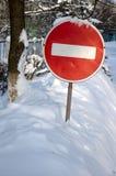 Μην εισάγετε Στοκ φωτογραφία με δικαίωμα ελεύθερης χρήσης