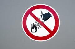 Μην εξαφανίστε με το νερό Στοκ φωτογραφία με δικαίωμα ελεύθερης χρήσης