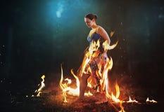 Μην μμένος από τις φλόγες στοκ φωτογραφίες με δικαίωμα ελεύθερης χρήσης