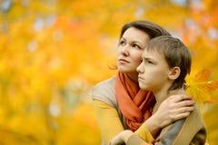 μητέρα αγοριών Στοκ εικόνα με δικαίωμα ελεύθερης χρήσης