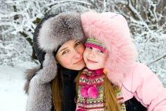 μητέρα ευτυχίας Στοκ φωτογραφία με δικαίωμα ελεύθερης χρήσης