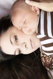 Μητέρα και γιος στοκ εικόνες με δικαίωμα ελεύθερης χρήσης