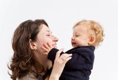 Μητέρα και γιος στοκ φωτογραφίες με δικαίωμα ελεύθερης χρήσης