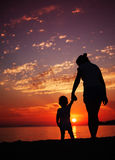Μητέρα και γιος Στοκ Εικόνες