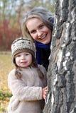 Μητέρα και κόρη Στοκ εικόνες με δικαίωμα ελεύθερης χρήσης