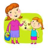Μητέρα και κόρη ελεύθερη απεικόνιση δικαιώματος