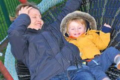 Μητέρα και παιδί Στοκ Φωτογραφία