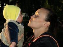 Μητέρα και παιδί Στοκ Φωτογραφίες