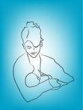 μητέρα κατσικιών Στοκ φωτογραφίες με δικαίωμα ελεύθερης χρήσης