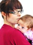μητέρα κοριτσακιών στοκ εικόνα με δικαίωμα ελεύθερης χρήσης