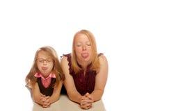μητέρα κορών Στοκ φωτογραφίες με δικαίωμα ελεύθερης χρήσης