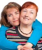 μητέρα κορών Στοκ εικόνα με δικαίωμα ελεύθερης χρήσης