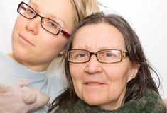μητέρα κορών Στοκ Φωτογραφίες