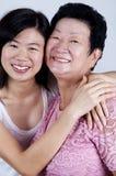 Μητέρα & κόρη στοκ εικόνα