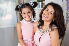 Μητέρα με την κόρη της στοκ εικόνες