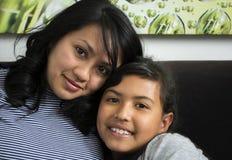 Μητέρα με την κόρη της Στοκ Εικόνα