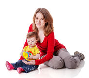 Μητέρα με την κόρη στοκ εικόνες