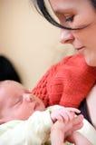 Μητέρα με το κοριτσάκι στοκ φωτογραφίες