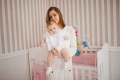 Μητέρα με το μωρό Στοκ Φωτογραφίες