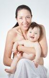 Μητέρα με το παιδί της Στοκ φωτογραφία με δικαίωμα ελεύθερης χρήσης