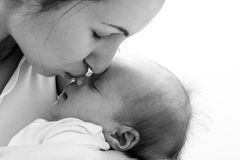 μητέρα μωρών στοκ φωτογραφίες με δικαίωμα ελεύθερης χρήσης