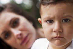 μητέρα παιδιών Στοκ φωτογραφία με δικαίωμα ελεύθερης χρήσης