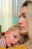 μητέρα παιδιών Στοκ Εικόνες