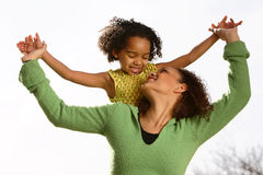 μητέρα παιδιών Στοκ εικόνες με δικαίωμα ελεύθερης χρήσης