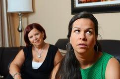 μητέρα που ανησυχείται Στοκ εικόνα με δικαίωμα ελεύθερης χρήσης