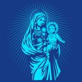 μητέρα του Ιησού Mary Στοκ φωτογραφία με δικαίωμα ελεύθερης χρήσης