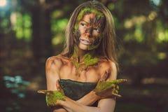 Μητέρα των δασικών μαγικών πλασμάτων Στοκ Εικόνες