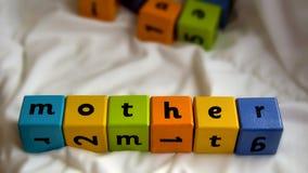 Μητέρα φραγμών παιδιών Στοκ Εικόνα