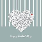 μητέρα s ημέρας καρτών Στοκ φωτογραφία με δικαίωμα ελεύθερης χρήσης