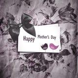 μητέρα s ημέρας καρτών Στοκ Εικόνες