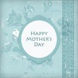 μητέρα s ημέρας καρτών Στοκ Εικόνα