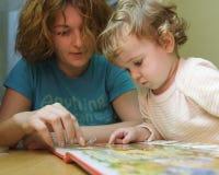 μητέρα s μαθήματος Στοκ Φωτογραφίες