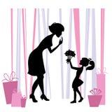 μητέρες ημέρας απεικόνιση αποθεμάτων
