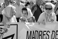 Μητέρες του Plaza de Mayo Στοκ εικόνα με δικαίωμα ελεύθερης χρήσης