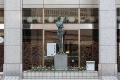 Μητροπολιτικό άγαλμα κυβερνητικής οικοδόμησης της Ιαπωνίας Τόκιο στοκ φωτογραφία με δικαίωμα ελεύθερης χρήσης