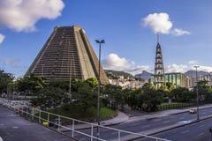Μητροπολιτικός καθεδρικός ναός Αγίου Sebastian - Ρίο ντε Τζανέιρο Στοκ φωτογραφία με δικαίωμα ελεύθερης χρήσης