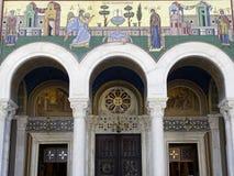 Μητροπολιτικός καθεδρικός ναός, Αθήνα Στοκ Εικόνα