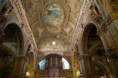 Μητροπολιτικός καθεδρικός ναός του Σαντιάγο, Σαντιάγο de Χιλή, Χιλή Στοκ Εικόνα