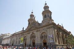 Μητροπολιτικός καθεδρικός ναός του Σαντιάγο, Σαντιάγο de Χιλή, Χιλή Στοκ φωτογραφίες με δικαίωμα ελεύθερης χρήσης