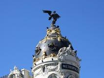μητρόπολη Ισπανία της Μαδρί&ta στοκ φωτογραφίες