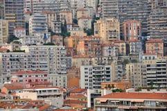 Μητρόπολη - σπίτια του Μόντε Κάρλο στοκ εικόνες